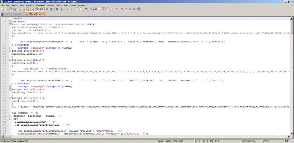 Windows Script File