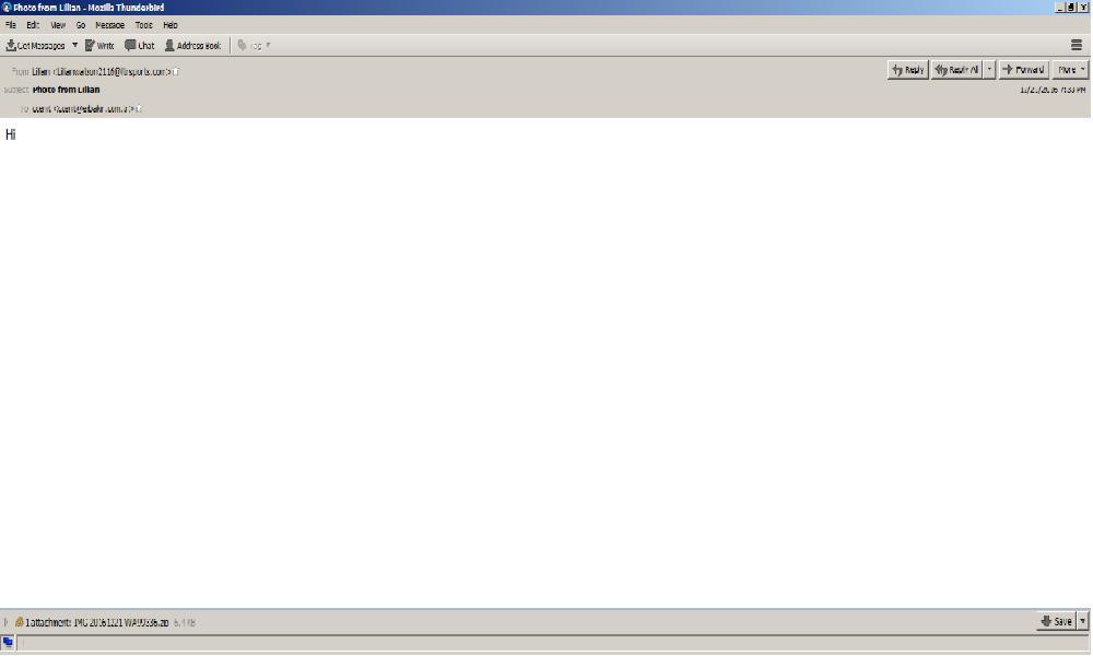Email Malware Snapshot