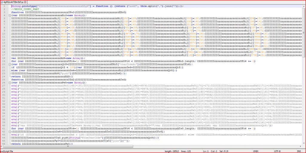 Screenshot Email Malware